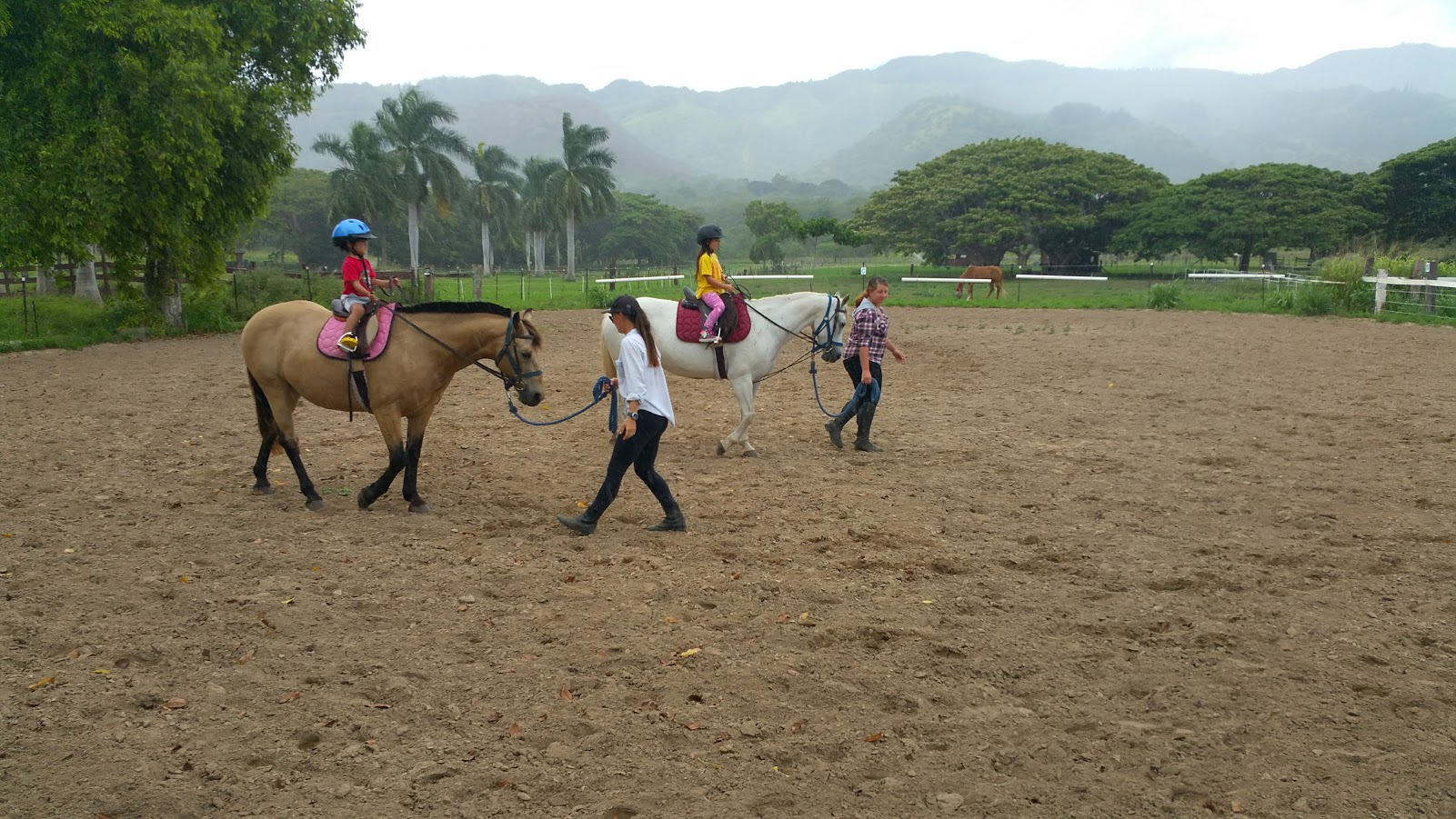 Riding Horses in Oahu North Shore – Dillingham Ranch with Ms. Giulia